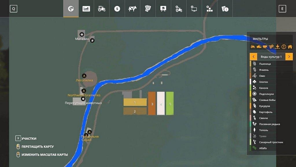 Мод Карта Tiny v 003 для Farming Simulator 2019