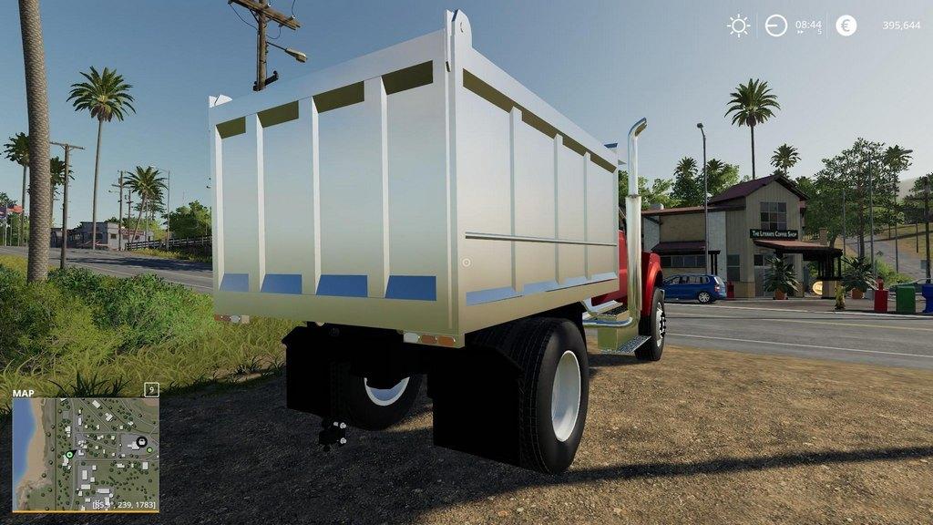 Мод F750 Dump Truck v 0.0.1 для Farming Simulator 2019