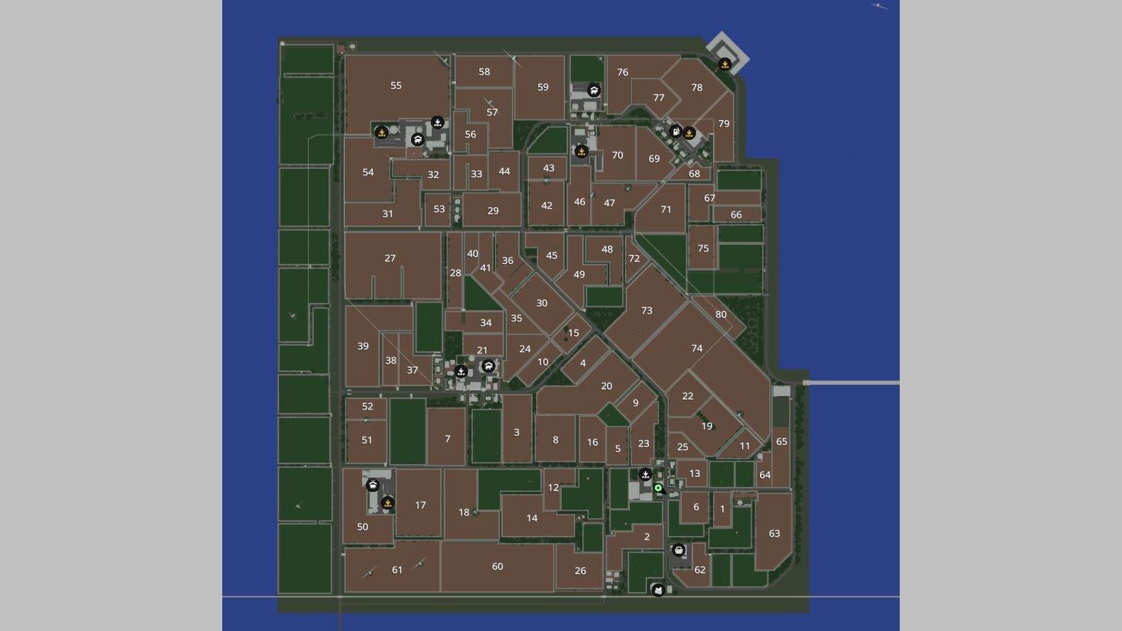 Мод Карта Norddeich v 1.0 для Farming Simulator 2019