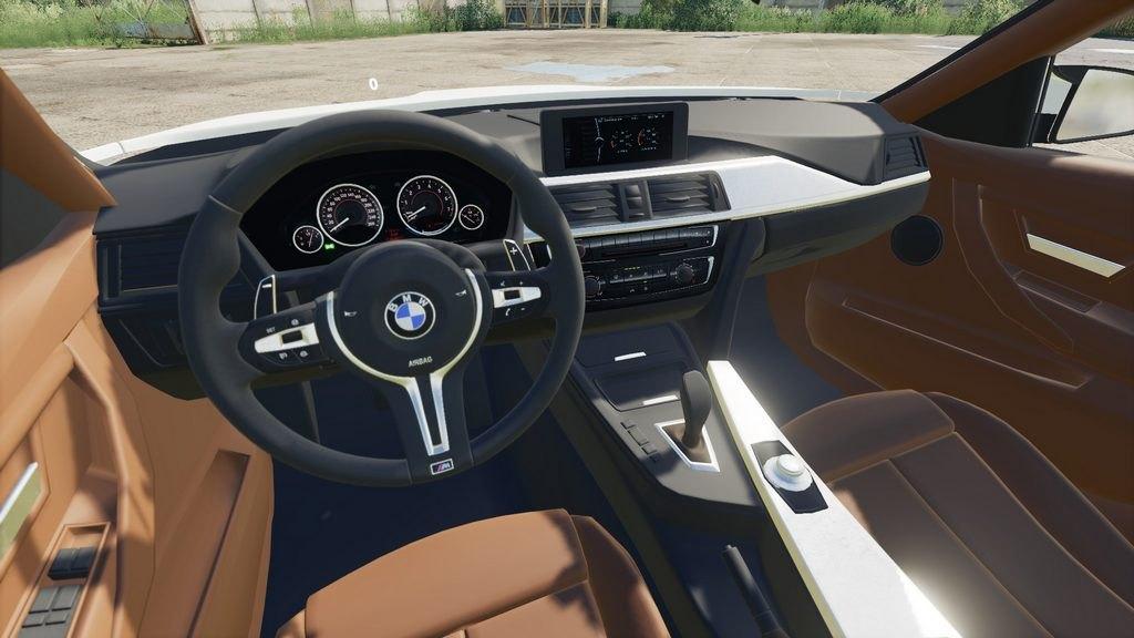 Мод BMW M3 F80 v 1.0 для Farming Simulator 2019