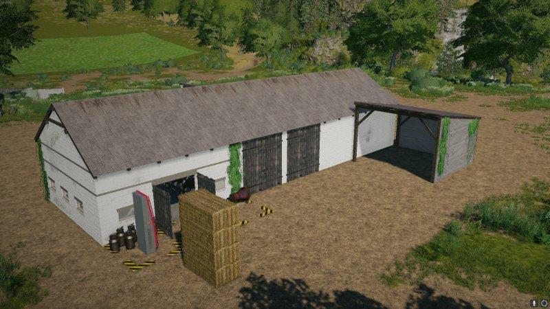 Мод Buildings with Cows (Obora) v 1.0 для Farming Simulator 2019